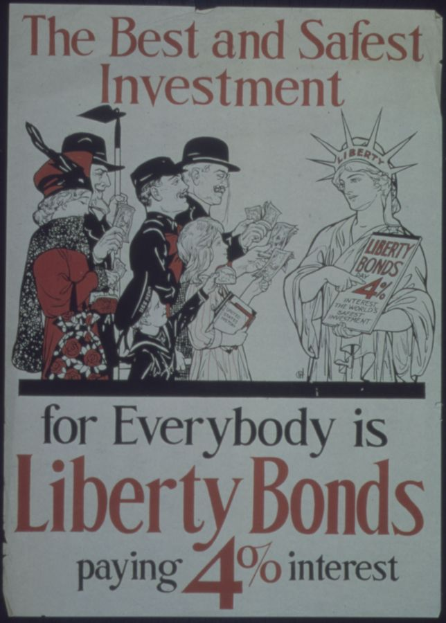 Best and Safest Investment for everybody is Liberty Bonds