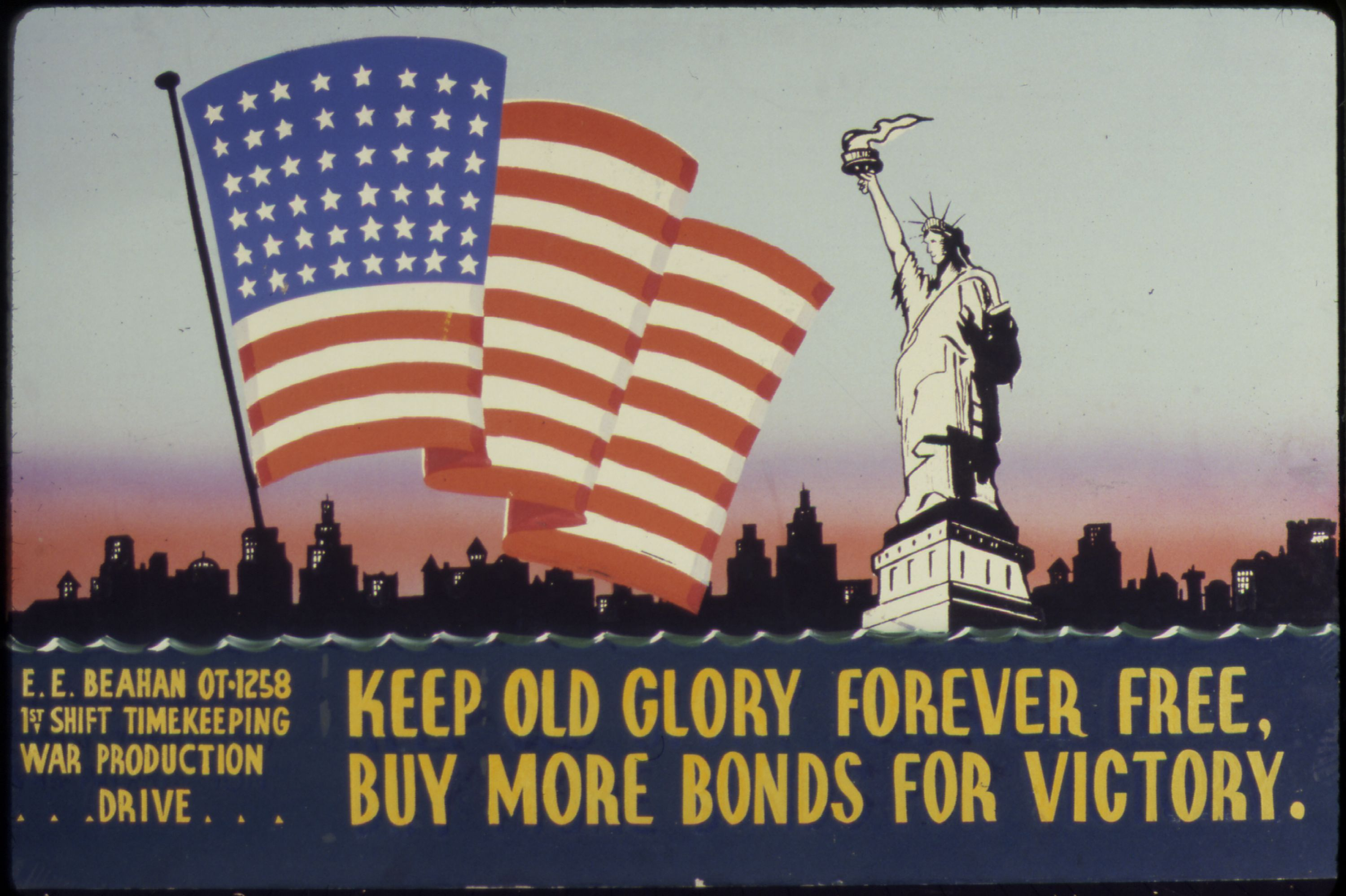 Keep old glory forever free education updates for Buy cheap posters online