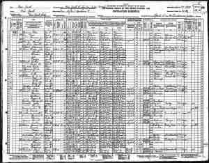 Luther Powell 1930 Census