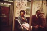 MANY SUBWAY CARS IN NEW YORK CITY HAVE BEEN SPRAY-PAINTED BY VANDALS, 05/1973