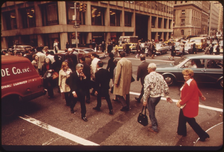 DOWNTOWN MANHATTAN, 05/1973