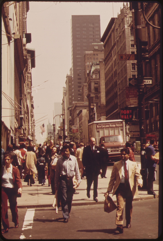 Midtown Manhattan 05 1973 Education Updates