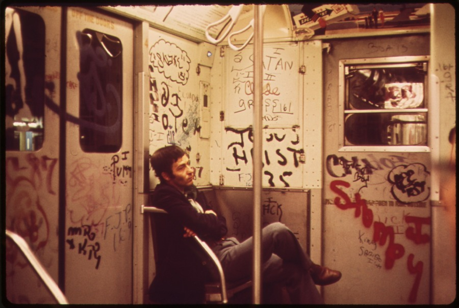 Subway Car, 05/1973