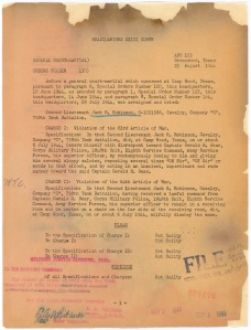 General Court Martial orders, 8/23/1944NRPA-O Job 09-A2-093_007_001