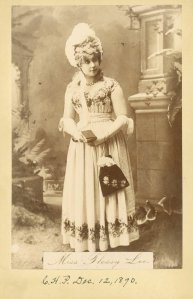 Photograph of Miss Flossy Lee