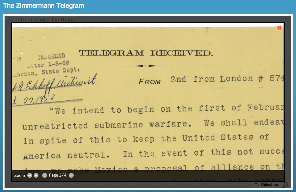 zimmerman telegram The zimmerman telegram the conspiracy behind the conspiracy [source]: wikipedia arthur zimmermann anyone who researches arthur zimmermann as the cause of america entering ww1 should also realize that zimmermann was also the cause of russia exiting ww1.