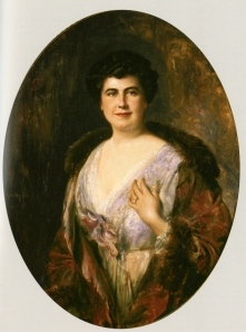 Portrait of Edith Bolling Wilson