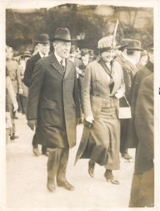 Photograph of President and Mrs. Wilson