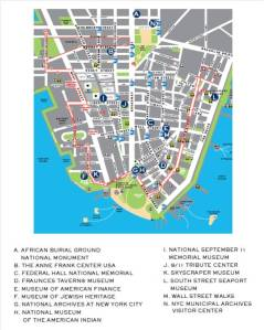 Night at the Museums Map