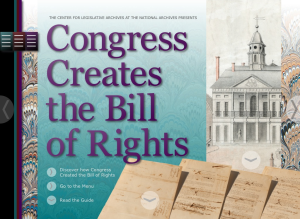 Congress Creates the Bill of Rights App