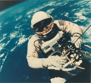 Astronaut Edward H. White II's Space Walk on Gemini IV