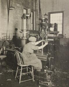Female Drill Operator