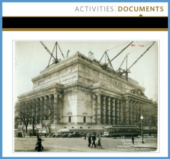 National Archives Building Being Constructed