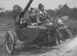 Women's Machine Gun Squad