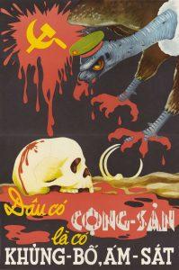 Communism Means Terrorism Poster