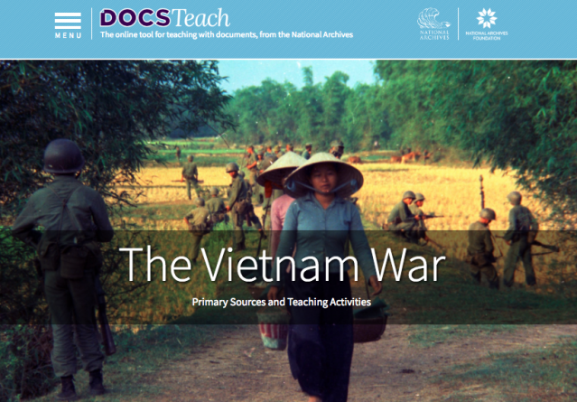The Vietnam War Page on DocsTeach.org
